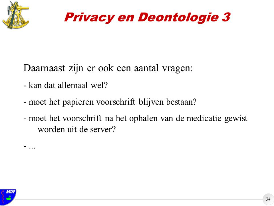 Privacy en Deontologie 3