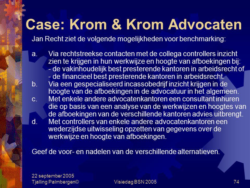 Case: Krom & Krom Advocaten