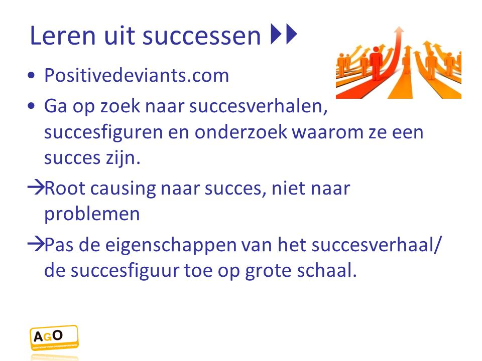 Leren uit successen  Positivedeviants.com