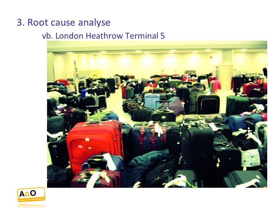 3. Root cause analyse vb. London Heathrow Terminal 5