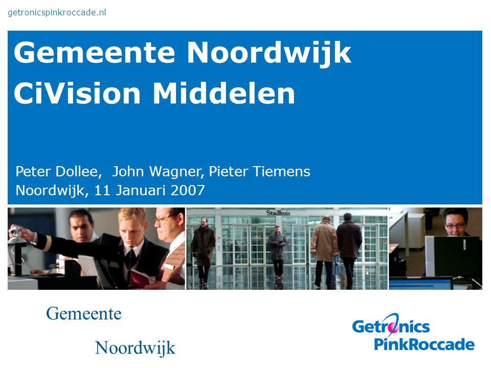 Gemeente Noordwijk CiVision Middelen