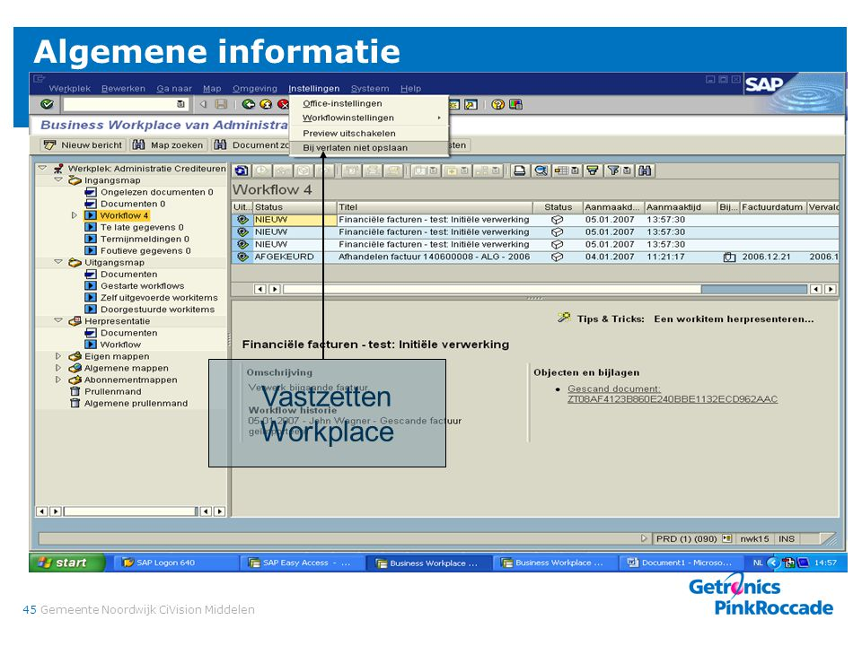 Algemene informatie Verzorgen vervanger