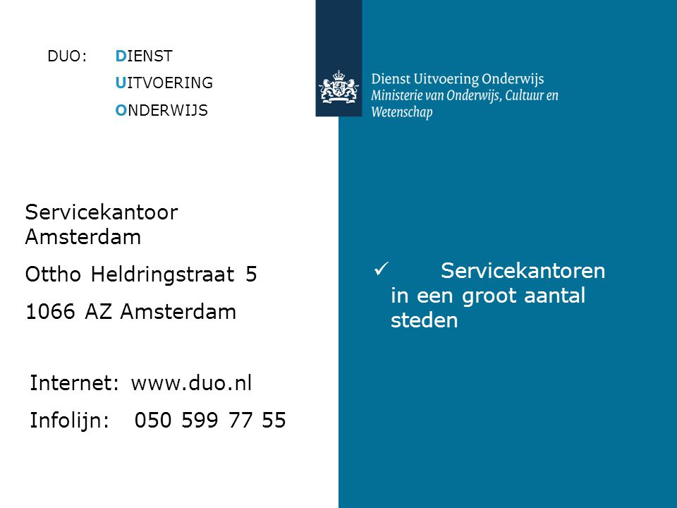 Servicekantoor Amsterdam