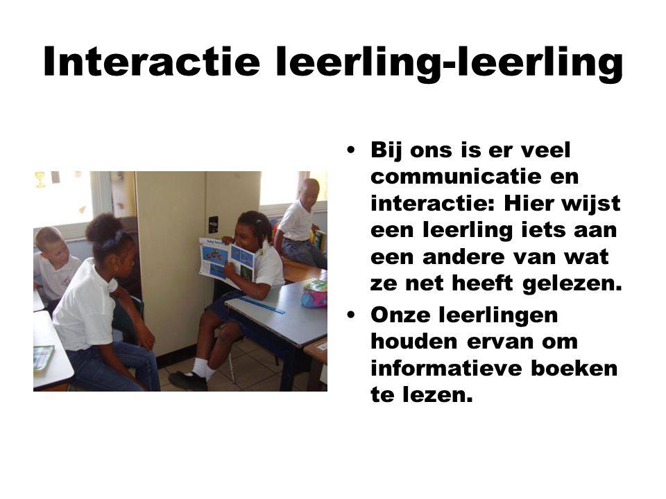 Interactie leerling-leerling