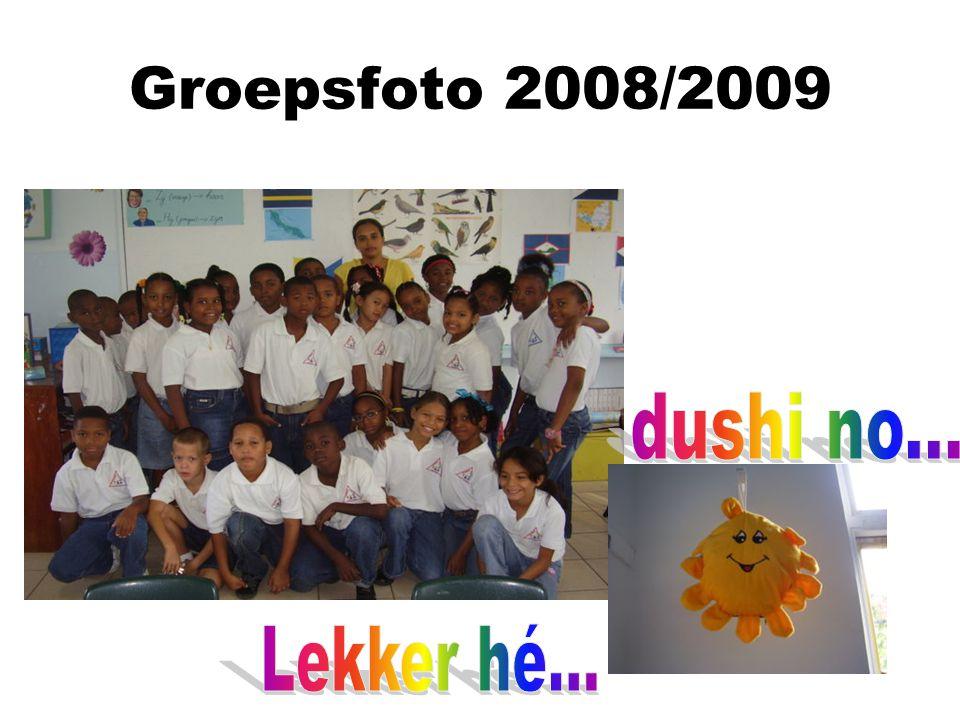 Groepsfoto 2008/2009 dushi no... Lekker hé...
