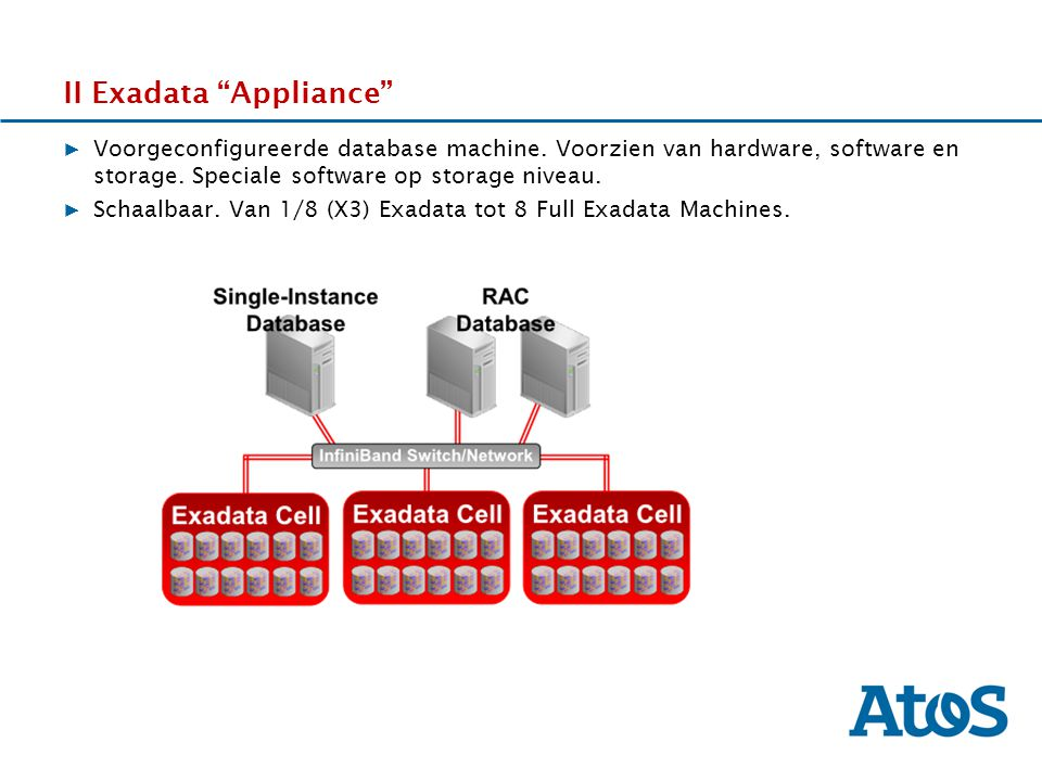 II Exadata Appliance