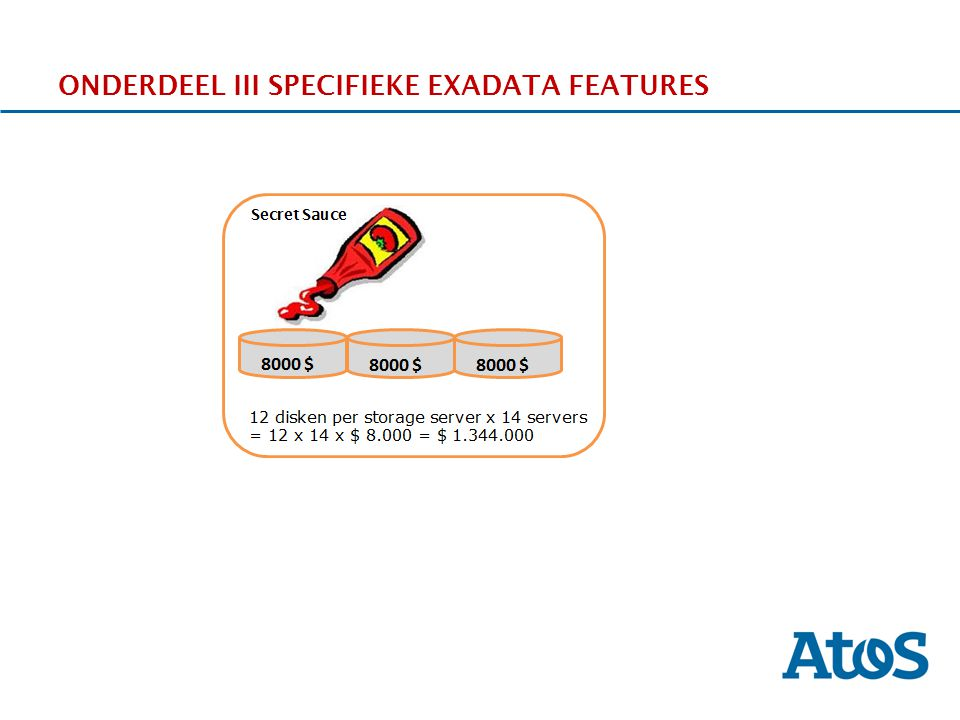 ONDERDEEL III SPECIFIEKE EXADATA FEATURES