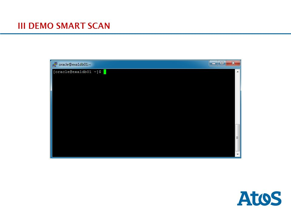 III DEMO SMART SCAN
