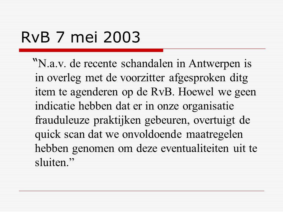 RvB 7 mei 2003
