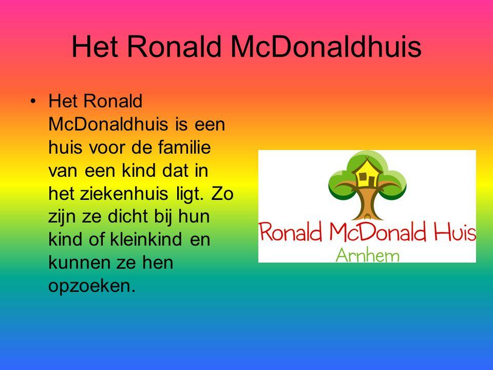 Het Ronald McDonaldhuis