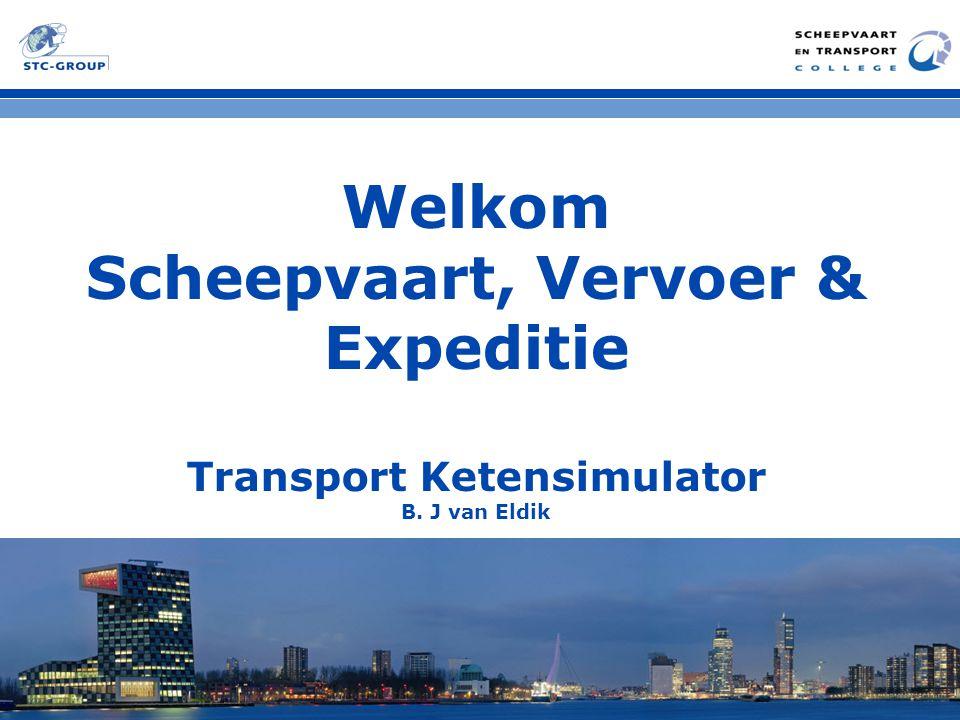 Scheepvaart, Vervoer & Expeditie Transport Ketensimulator