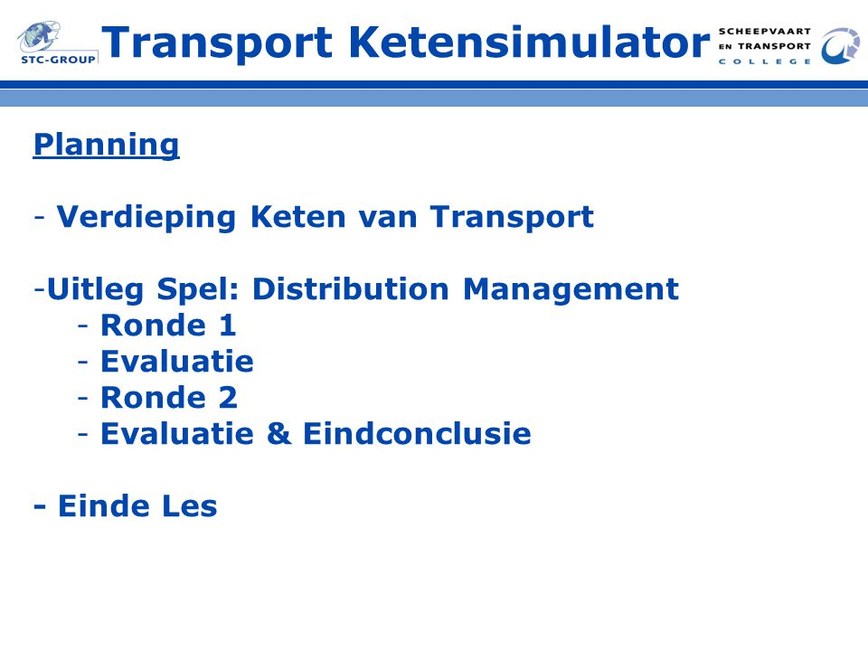 Transport Ketensimulator