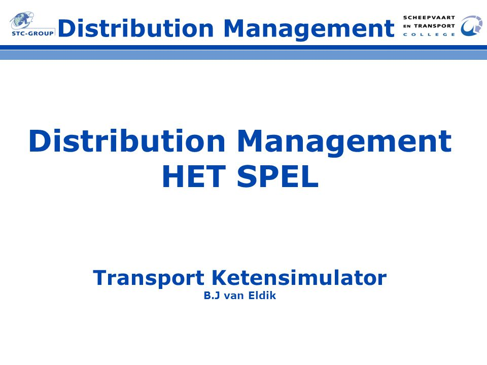 Distribution Management Transport Ketensimulator