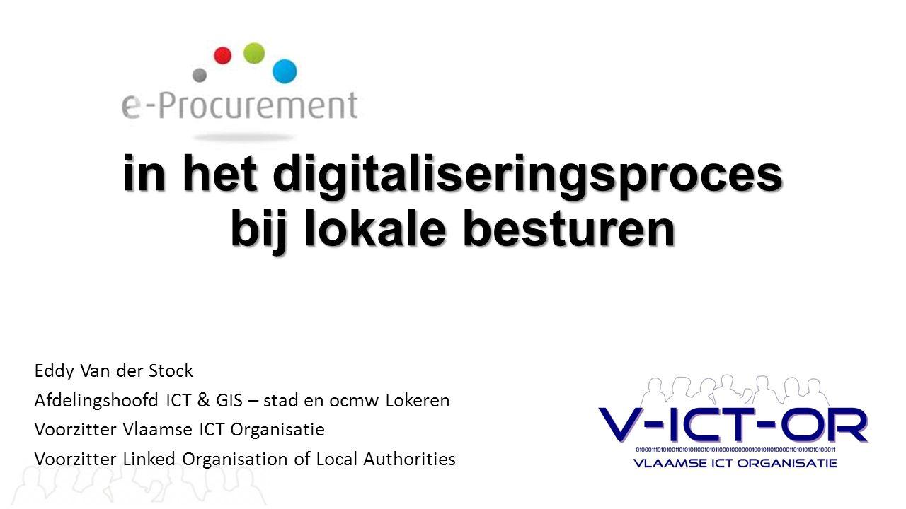 in het digitaliseringsproces bij lokale besturen