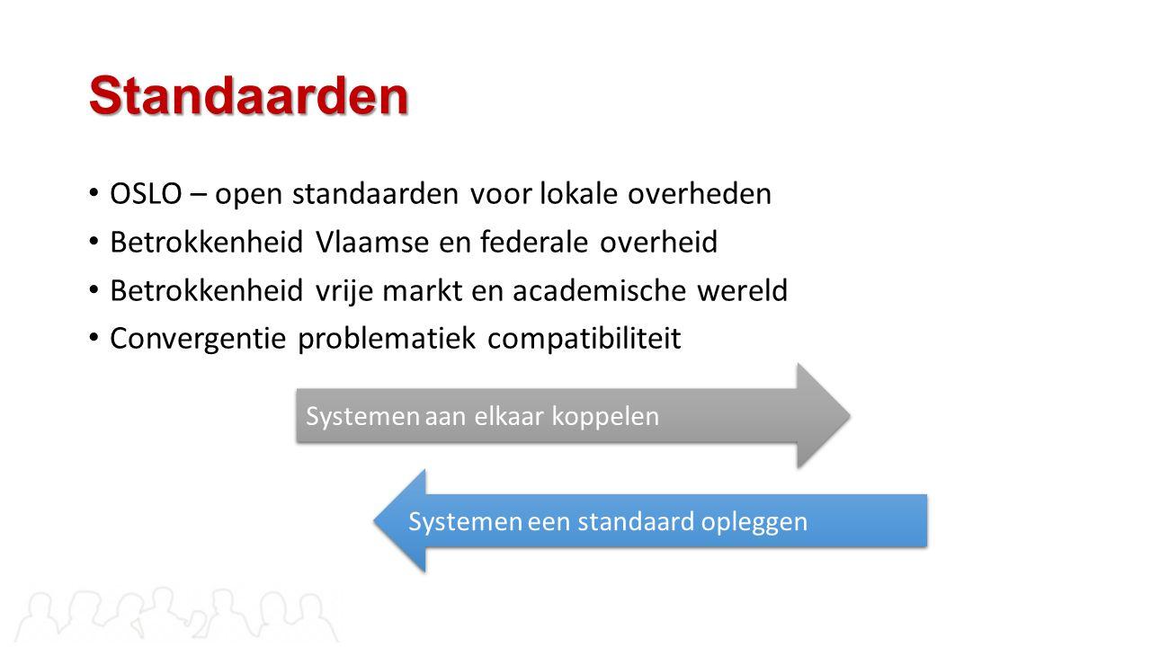 Standaarden OSLO – open standaarden voor lokale overheden