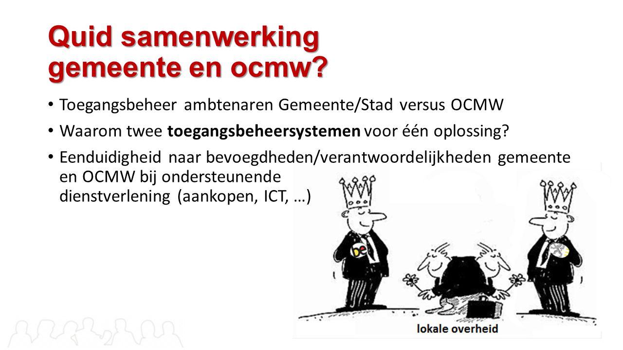 Quid samenwerking gemeente en ocmw