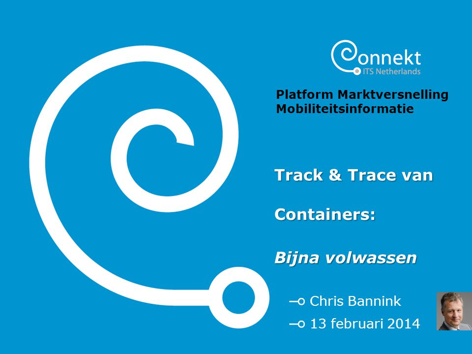 Track & Trace van Containers:
