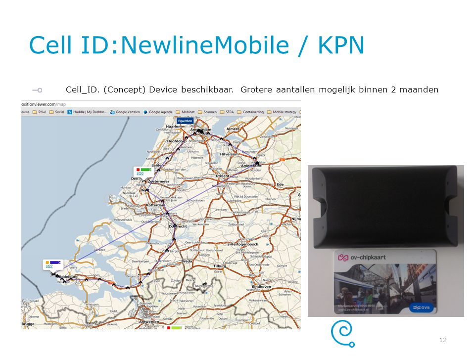 Cell ID:NewlineMobile / KPN
