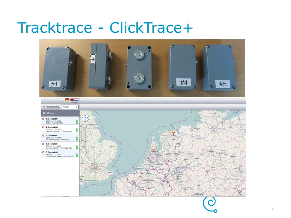 Tracktrace - ClickTrace+