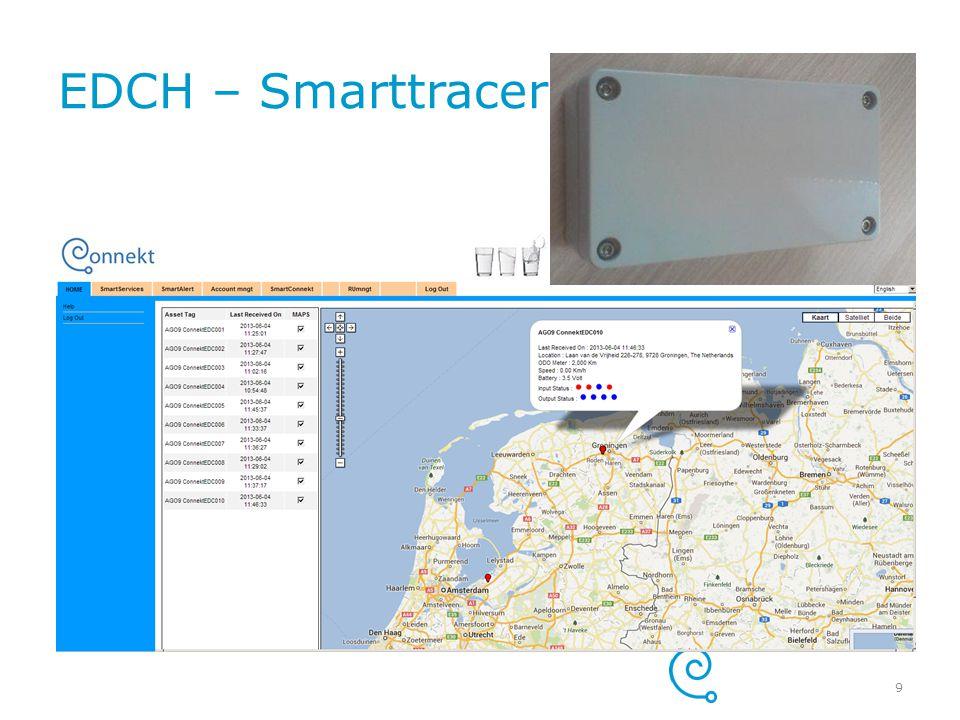 EDCH – Smarttracer Pro + Geconfigureerd door leverancier