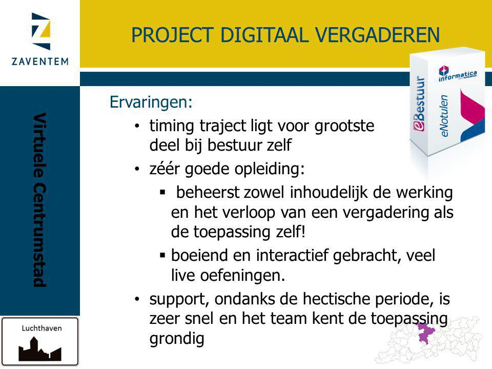 Project DIGITAAL VERGADEREN