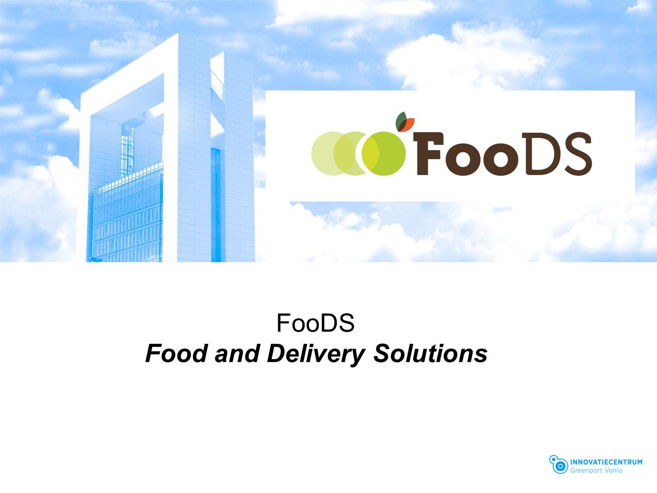 Food and Delivery Solutions