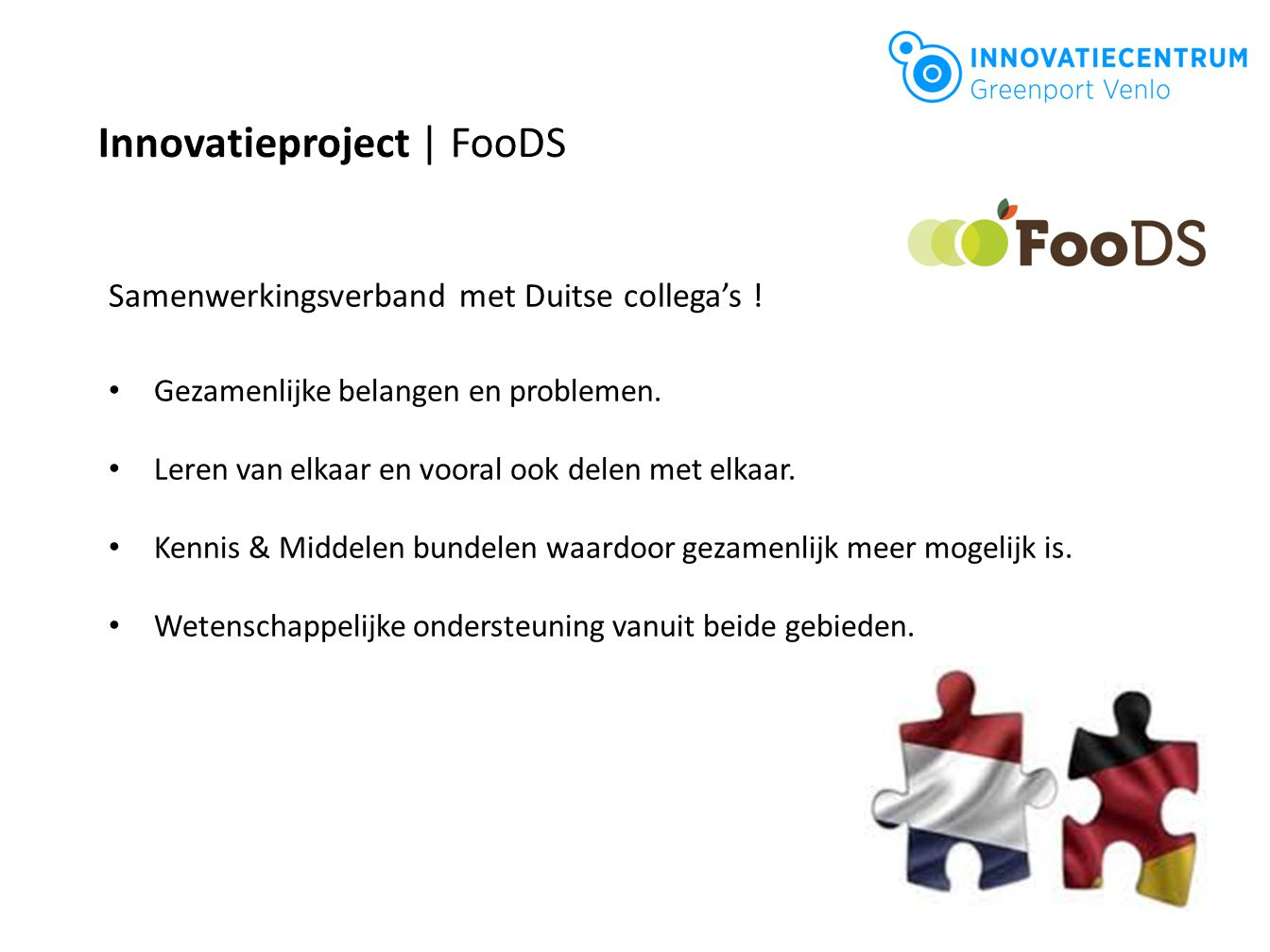 Innovatieproject | FooDS