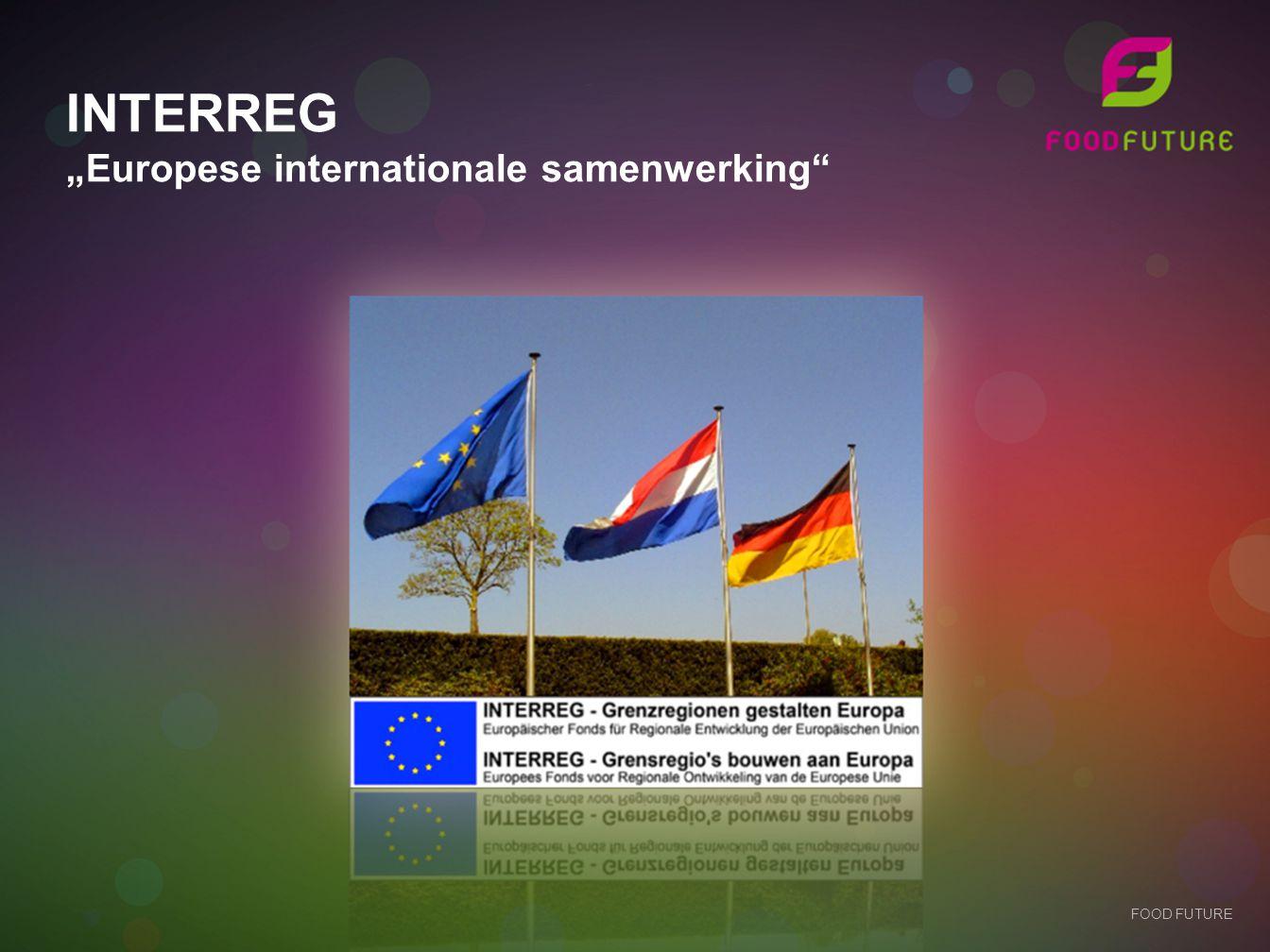 "INTERREG ""Europese internationale samenwerking"