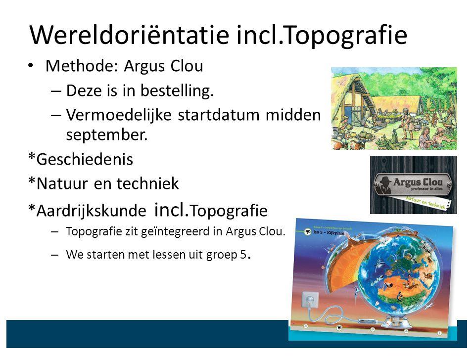 Wereldoriëntatie incl.Topografie