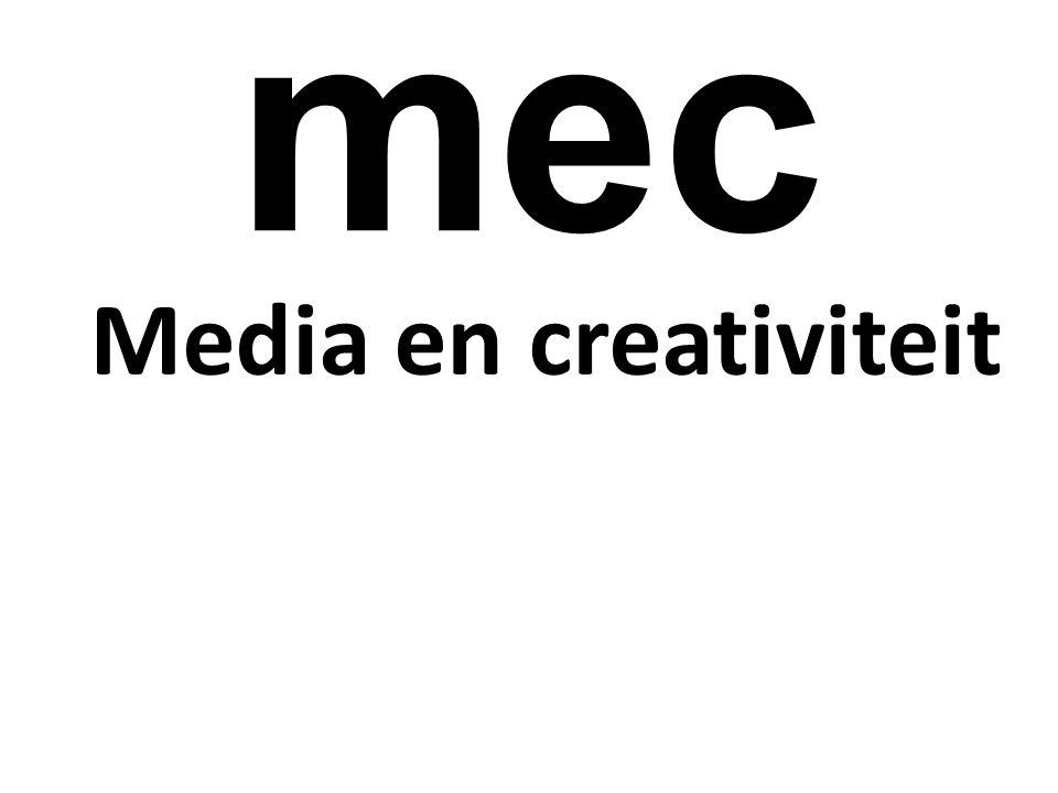 mec Media en creativiteit