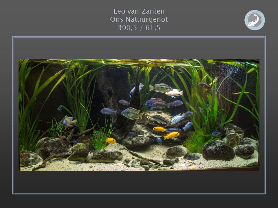 Leo van Zanten Ons Natuurgenot 390,5 / 61,5