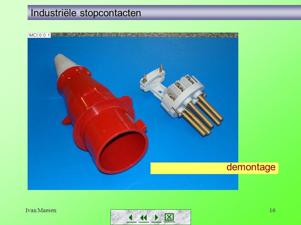 Industriële stopcontacten