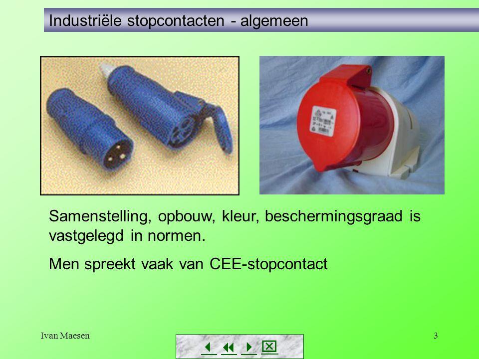 Industriële stopcontacten - algemeen