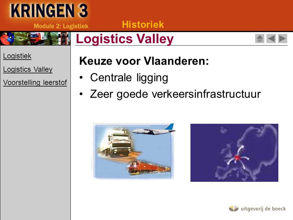 Logistics Valley Keuze voor Vlaanderen: Centrale ligging