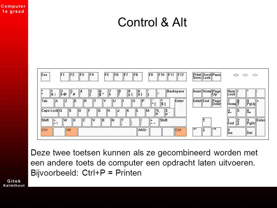 Control & Alt