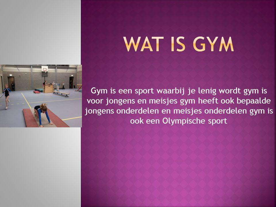 Wat is gym