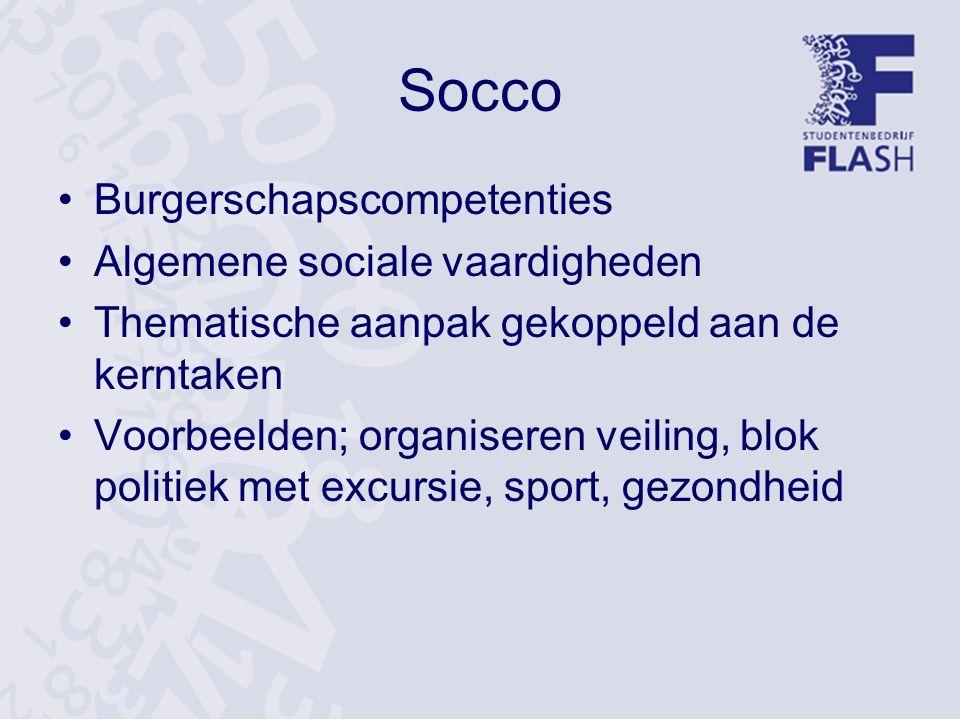 Socco Burgerschapscompetenties Algemene sociale vaardigheden