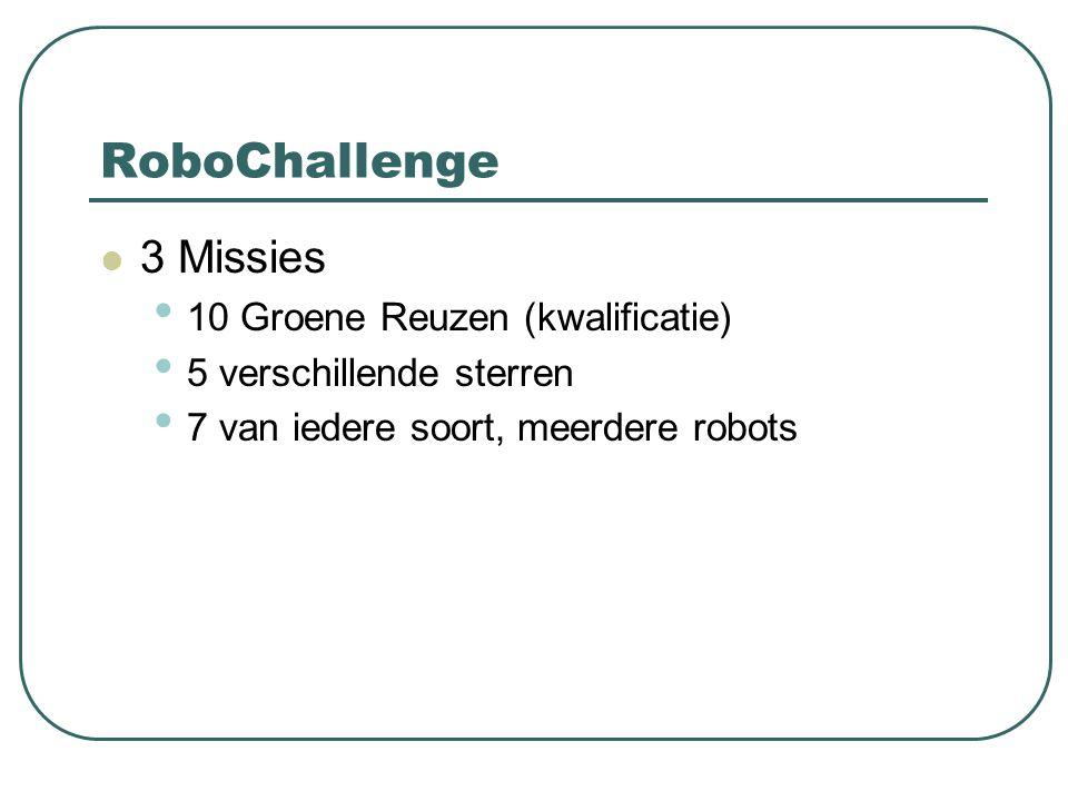 RoboChallenge 3 Missies 10 Groene Reuzen (kwalificatie)