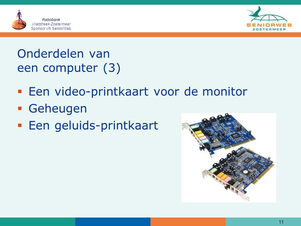 Onderdelen van een computer (3)