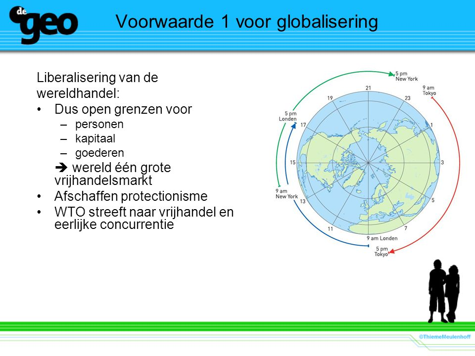 Voorwaarde 1 voor globalisering