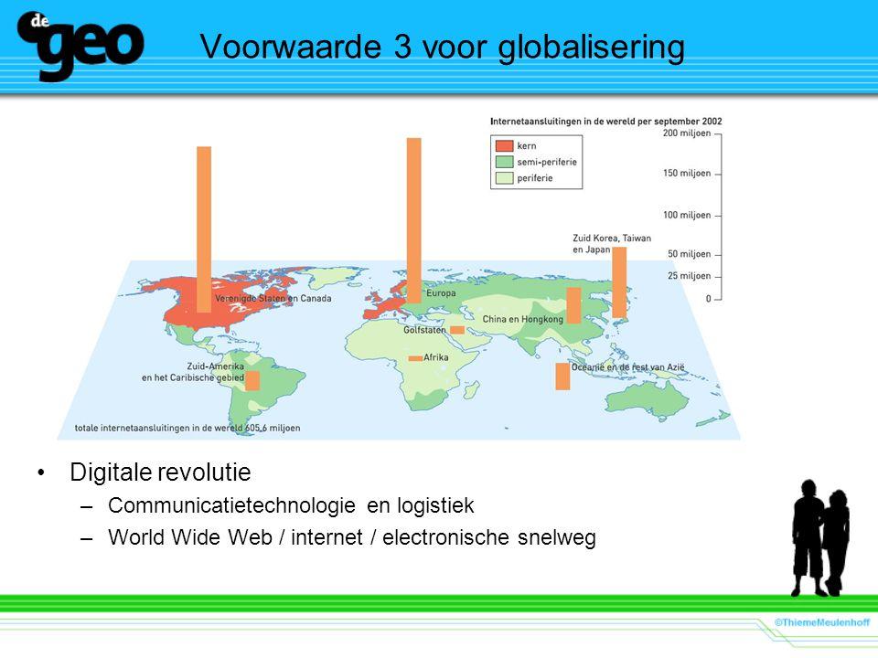 Voorwaarde 3 voor globalisering