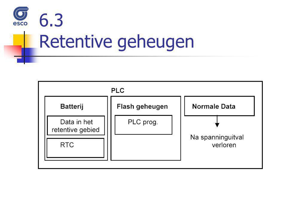6.3 Retentive geheugen