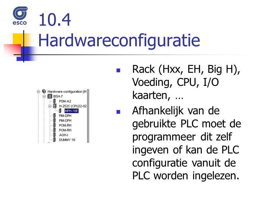 10.4 Hardwareconfiguratie