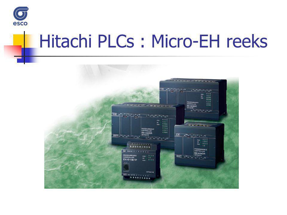 Hitachi PLCs : Micro-EH reeks
