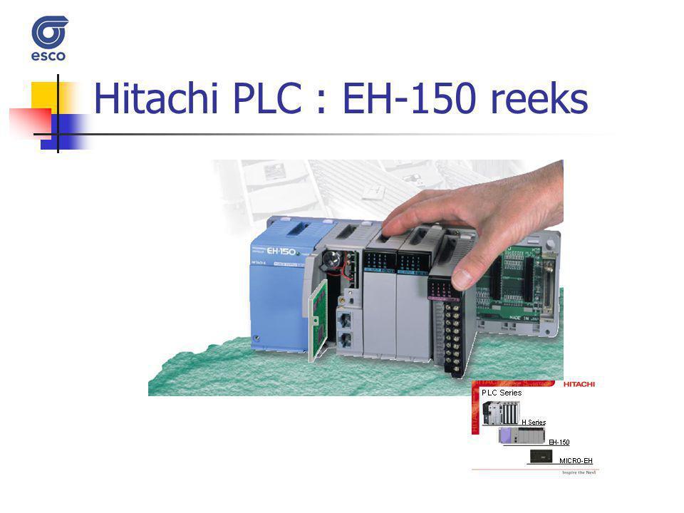 Hitachi PLC : EH-150 reeks