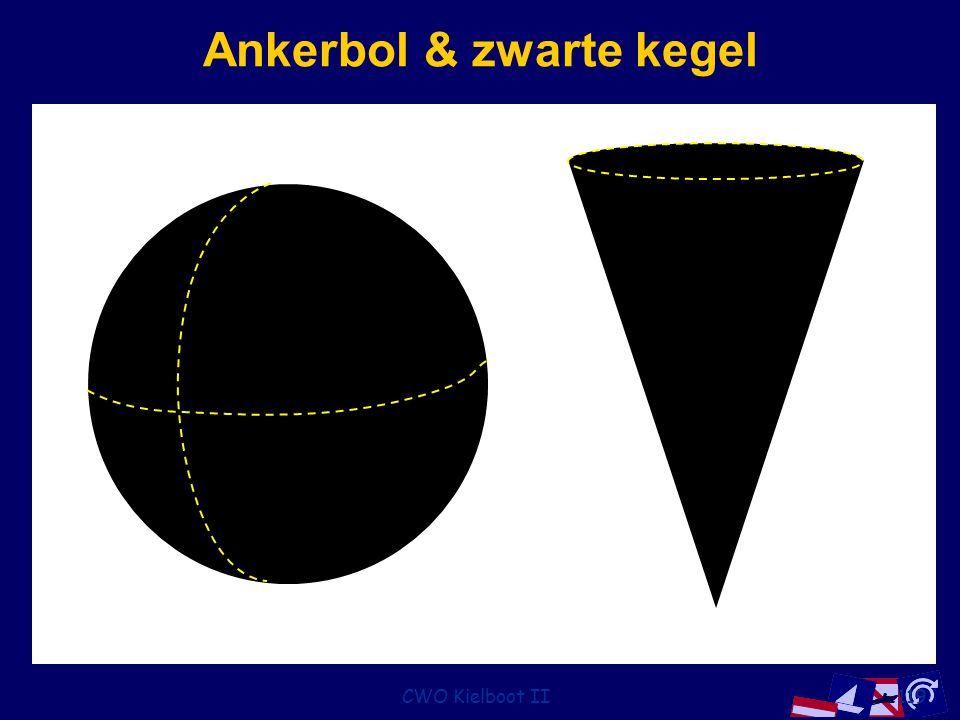 Ankerbol & zwarte kegel