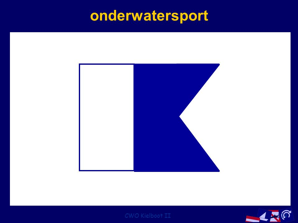 onderwatersport CWO Kielboot II