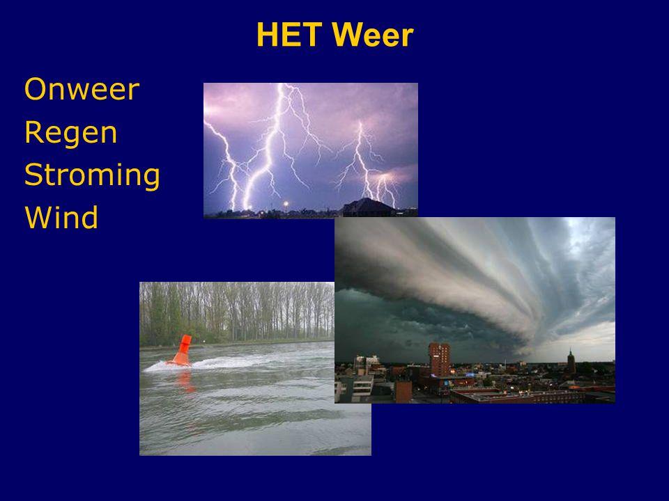HET Weer Onweer Regen Stroming Wind CWO Kielboot II