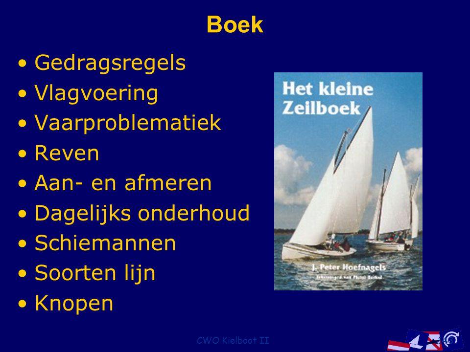 Boek Gedragsregels Vlagvoering Vaarproblematiek Reven Aan- en afmeren
