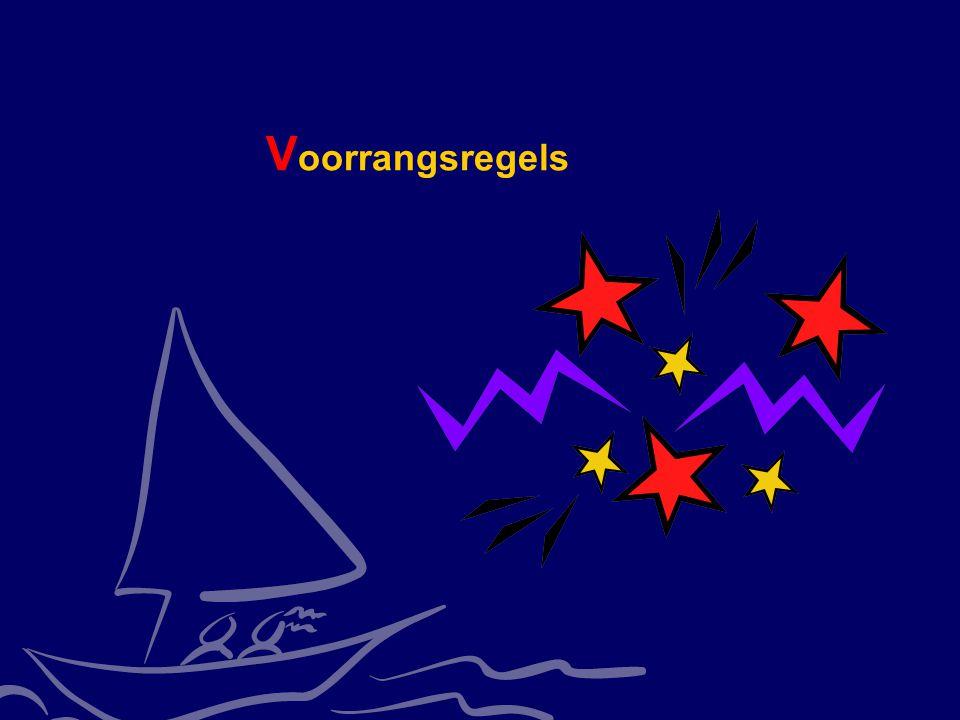 Voorrangsregels CWO Kielboot II